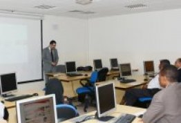 "AAU Library organizes presentation on ""Effective use of ABI Database"