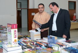 Book Fair and Photo Gallery event in Al Ain Campus