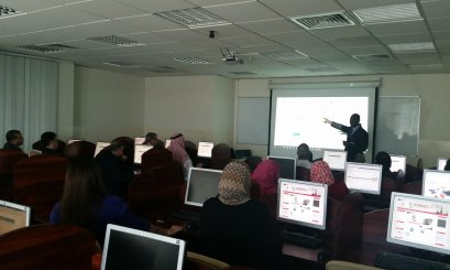 Al Ain University organizes a workshop about Turnitin