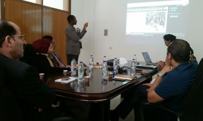 "Lively Discussion about ""Press Reader"" at Khalifa Library"