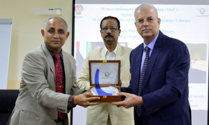 AAU Signs an MOU with BITS Pilani University