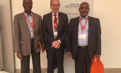 AAU Participate in Sharjah Library Conference