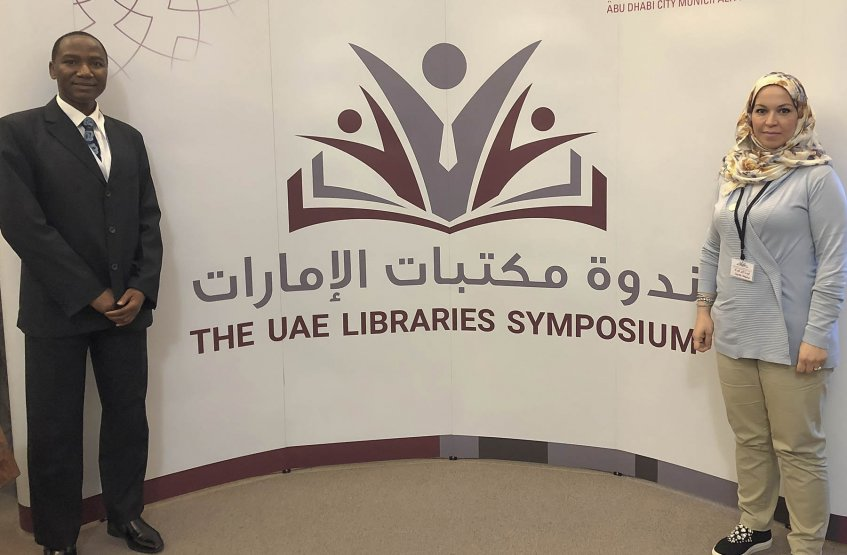 Participating in Library Symposium