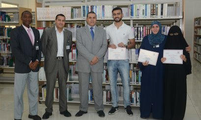 """Khalifa"" Library organized the Information Literacy Training  for  AAU Students"