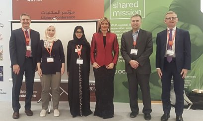 Khalifa Library Attends in Library Conference