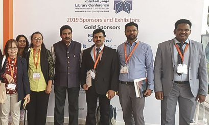 AAU Librarians Attend Sharjah Library Conference